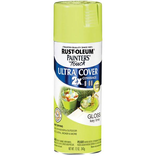 Rust-Oleum Painter's Touch Multi-Purpose Spray Paint - Gloss Key Lime, 12oz