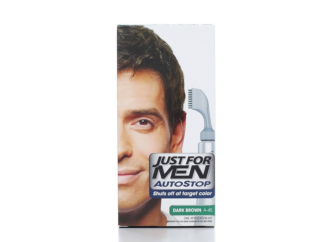 Just For Men Autostop Formula Hair Color - Dark Brown, 1.2oz