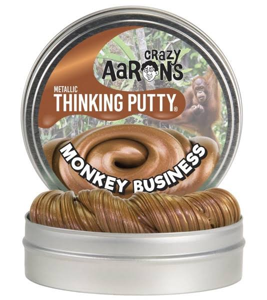 Crazy Aaron's Monkey Business Thinking Putty