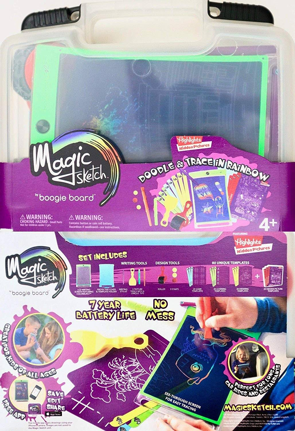 Magic Sketch Boogie Board Deluxe Kit