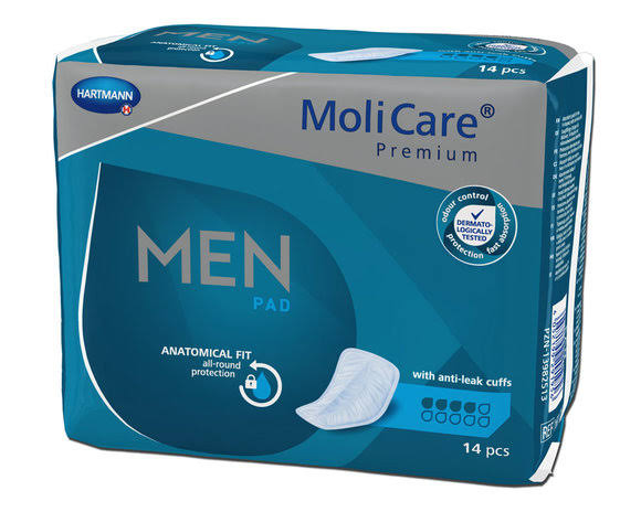 MoliCare Premium Men Pad 4 Drops /1 Pack (14 Pieces)
