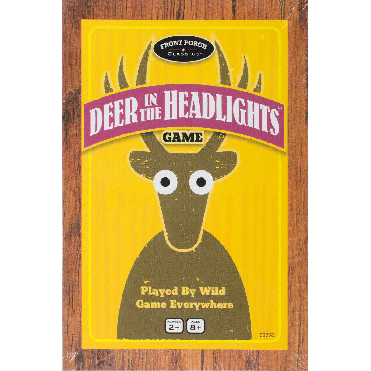 Front Porch Deer in The Headlights Card Dice Game
