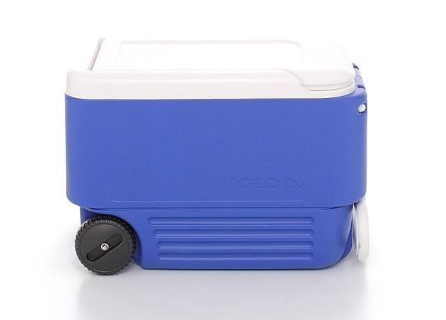 Igloo 45004 Wheelie Cooler - Blue, 38qt