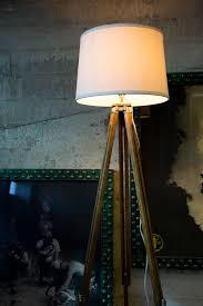 Photographers Tripod Floor Lamp by Vintage Tripod Lamps