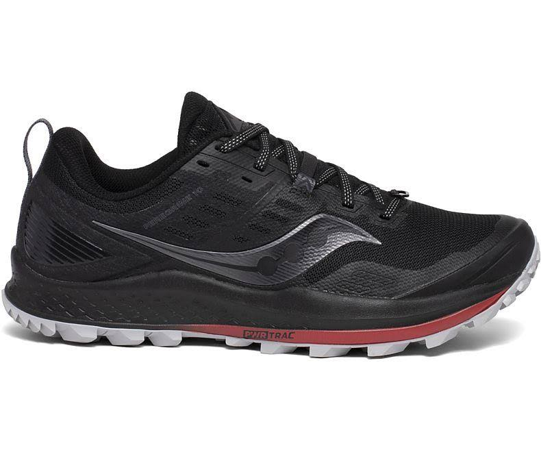 Saucony Peregrine 10 Trail Running Shoes - Black - 11.5