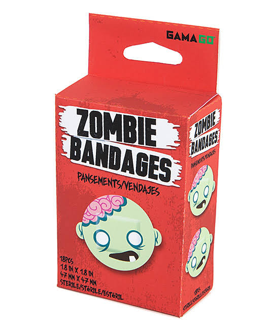 Gamago Zombie Adhesive Bandages - 18 Pieces