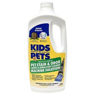 Kids 'n' Pets Pet Stain & Odor - Carpet & Upholstery Cleaner Machine Solution
