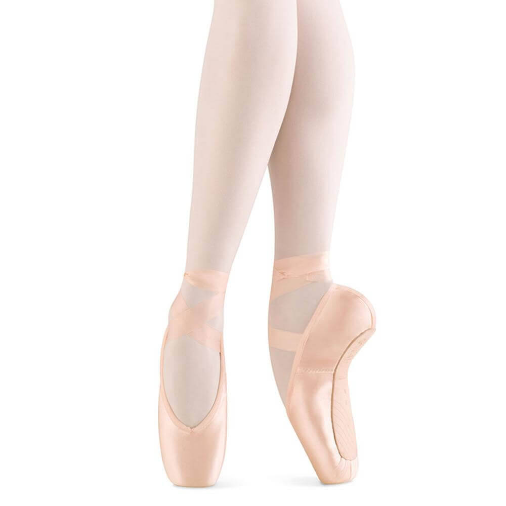 Bloch Women's Aspiration Pointe Toe Shoes - Pink, 3 US