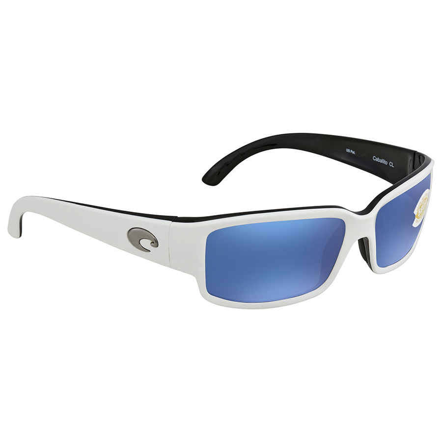 Costa Del Mar Caballito 30 Sunglasses - White/Black