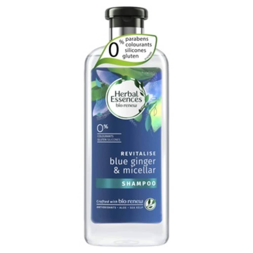 Herbal Essences Bio Renew Micellar Water & Blue Ginger Shampoo