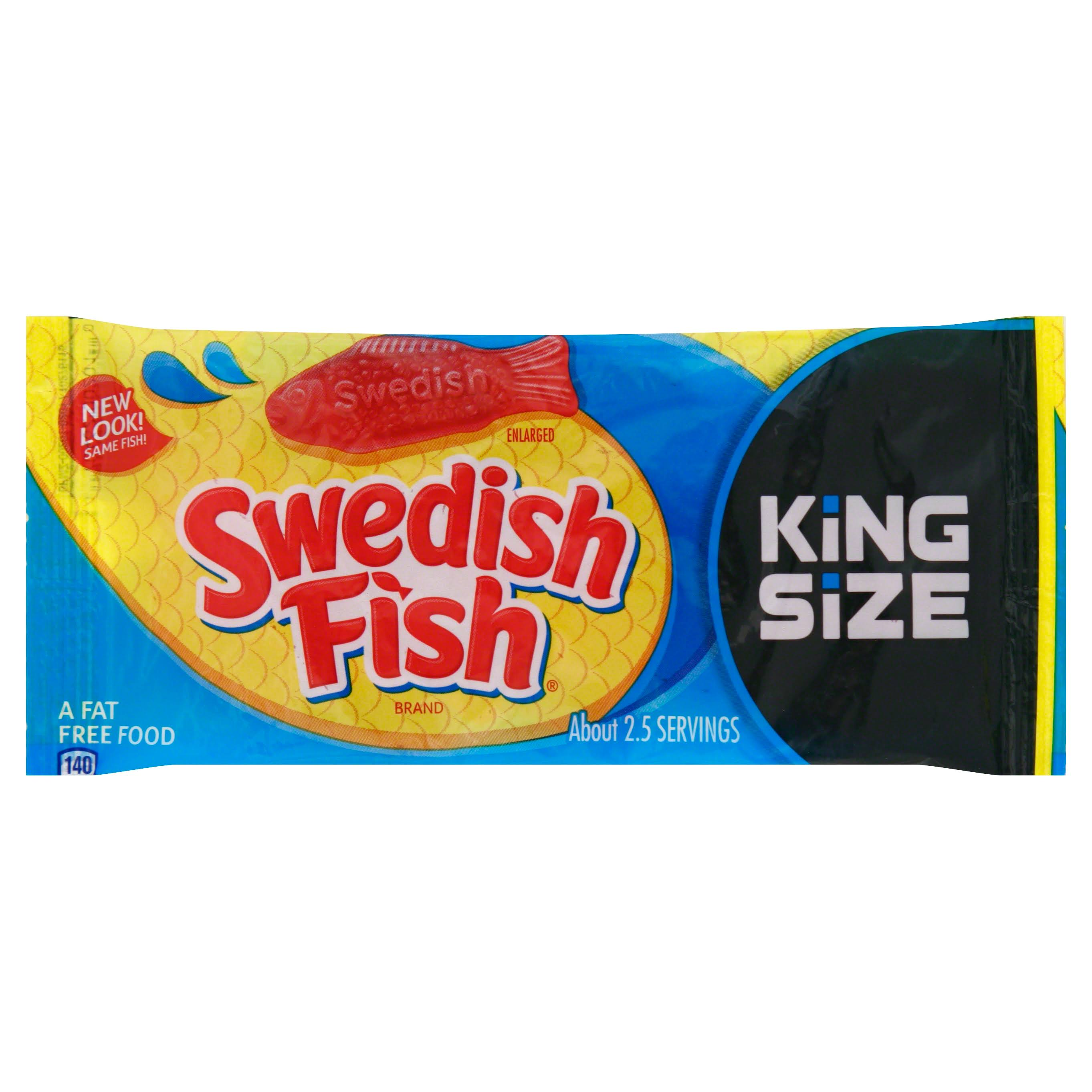 Swedish Fish Candy Soft & Chewy - King Size