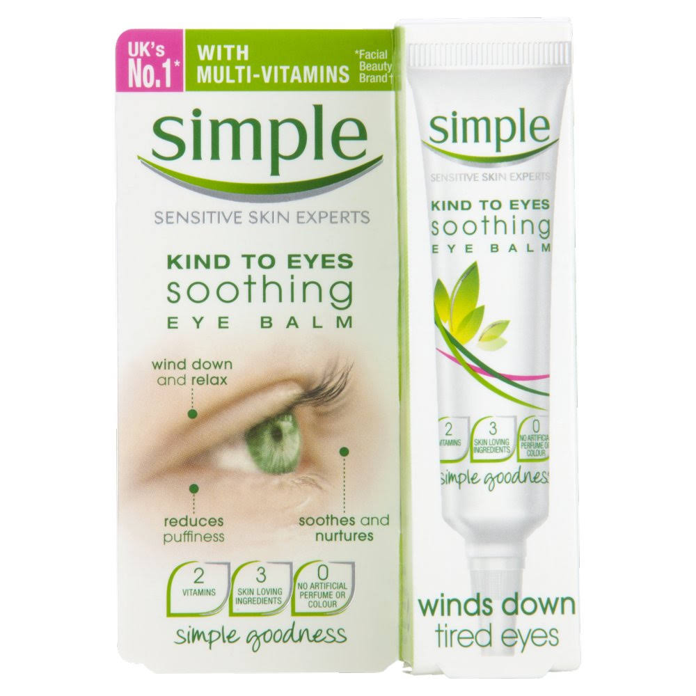 Simple Kind to Eyes Soothing Eye Balm - 15 ml