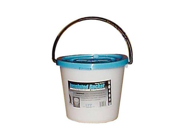 Challenge Plastics Foam Insulated Bucket - White, 10qt