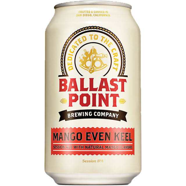 Ballast Point Session IPA - Mango Even Keel