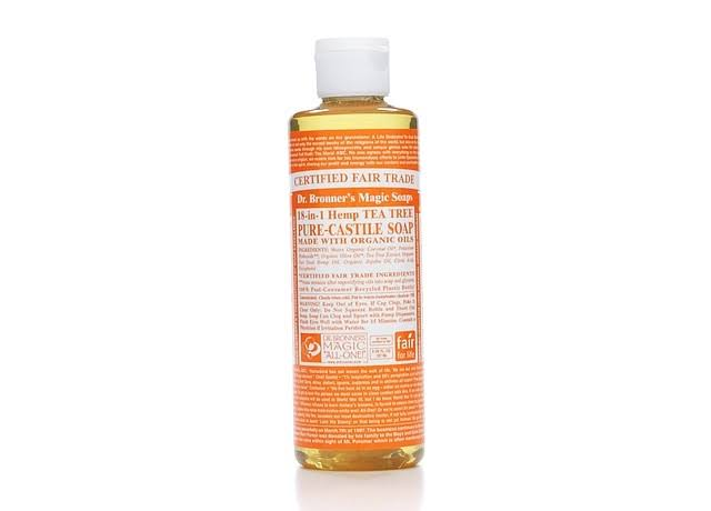 Dr. Bronner's 18-in-1 Pure-Castile Liquid Soap - Hemp Tea Tree, 237ml
