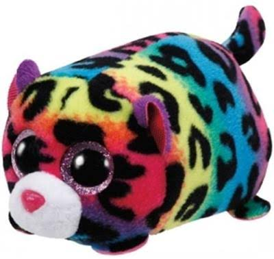 Ty Beanie Teeny Tys Jelly the Leopard Plush