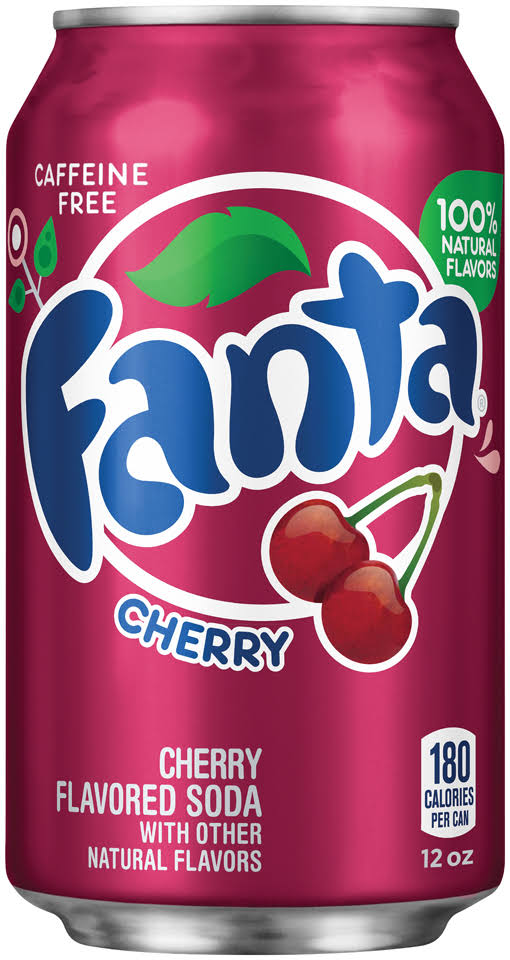 Fanta Cherry Can - 355ml