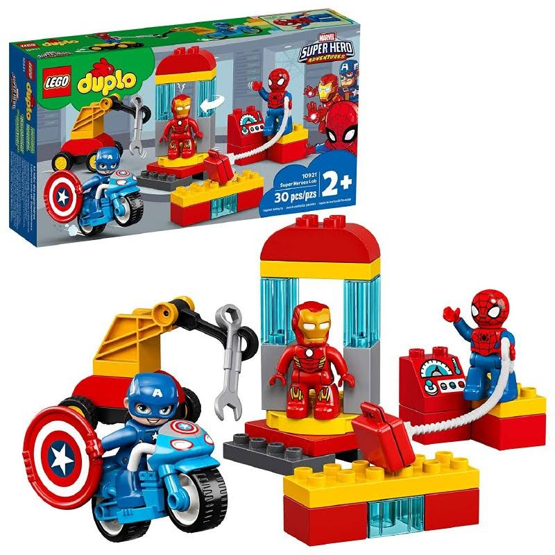 Lego Duplo Super Heroes Lab 10921 Marvel Avengers Toy