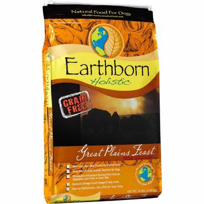 Earthborn Holistic Great Plains Feast Dog Food - 14lb