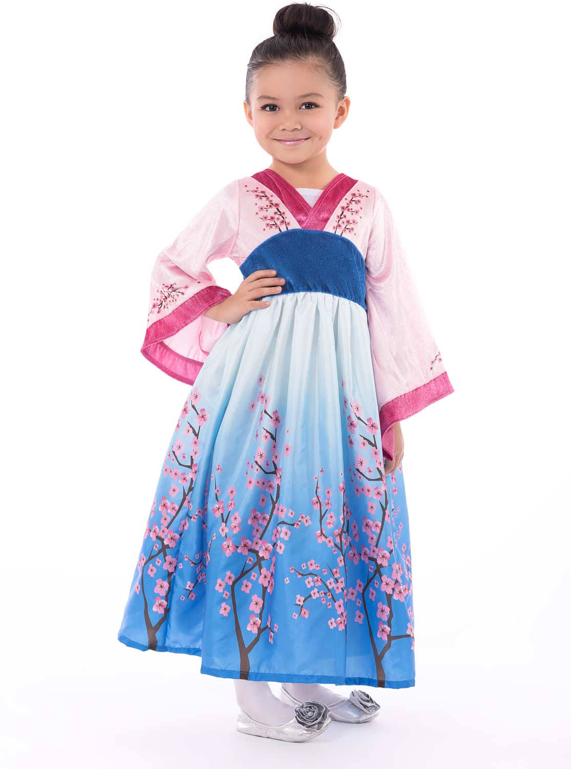 Little Adventures Asian Princess Dress Up Costume (Medium Age 3-5)