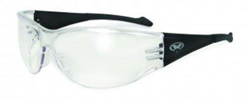 Global Vision Eyewear Full Throttle Safety Glasses - Clear