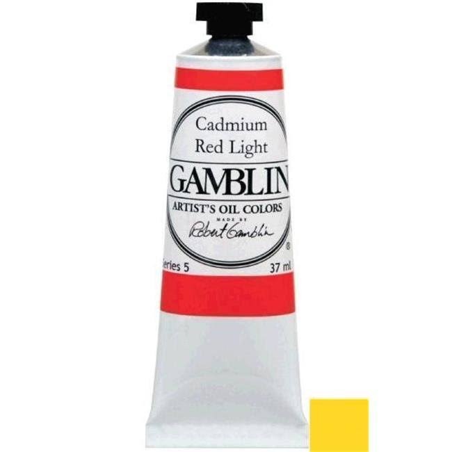 Gamblin Artist's Oil Colors - Cadmium Yellow Medium, 37ml