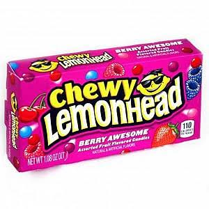 Lemonhead Assorted Fruit Flavored Candies - Berry Awesome