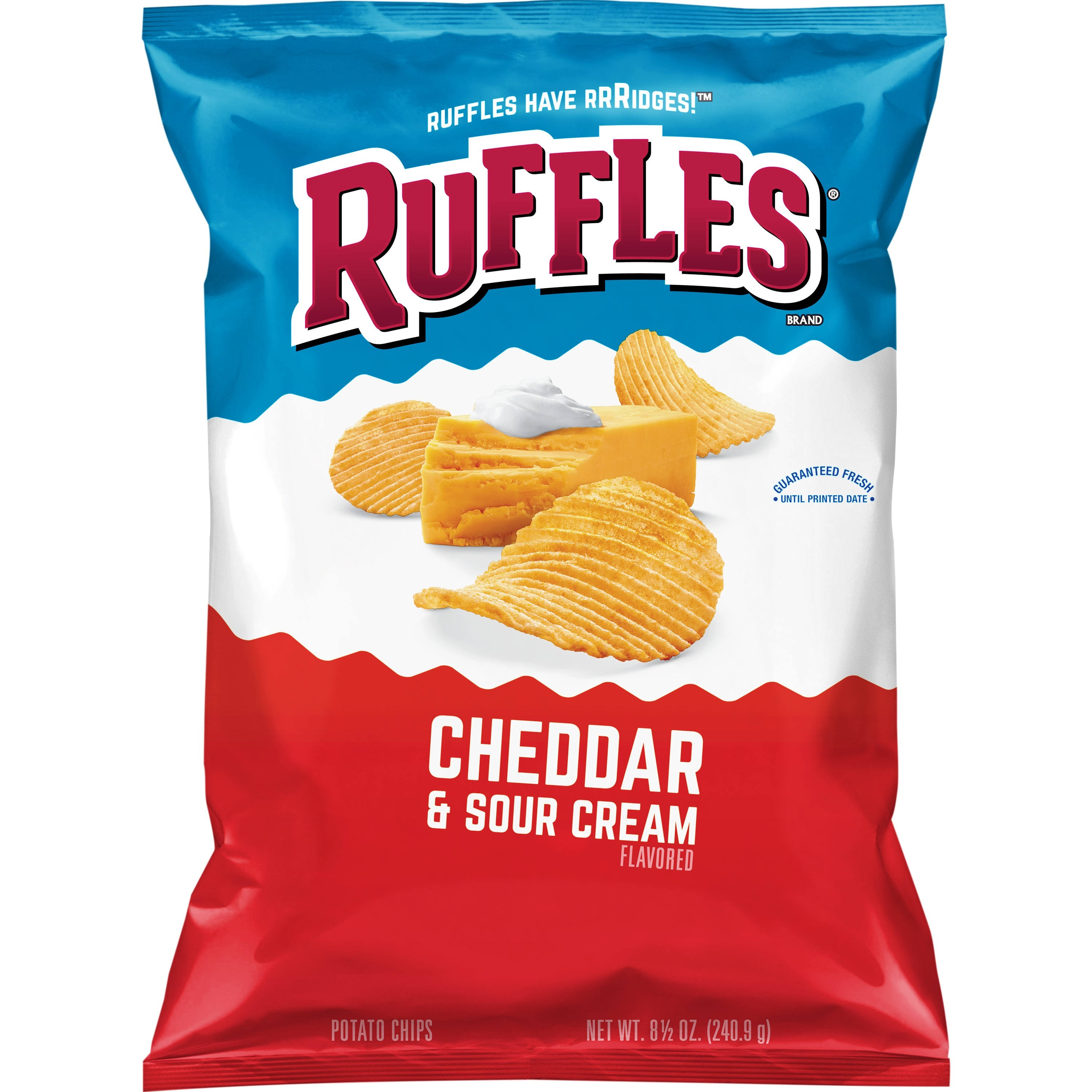 Ruffles Potato Chips - Cheddar & Sour Cream