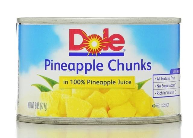 Dole Pineapple Chunks in Juice - 8oz