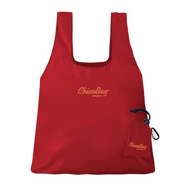 ChicoBag Original Reusable Shopping Bag - Red