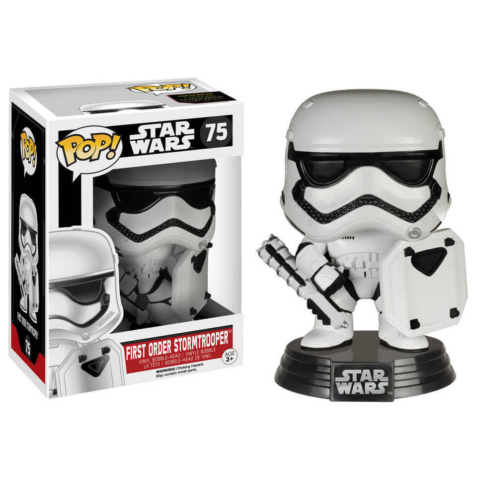 Funko Pop Star Wars: First Order Stormtrooper Vinyl Bobble Head Figure