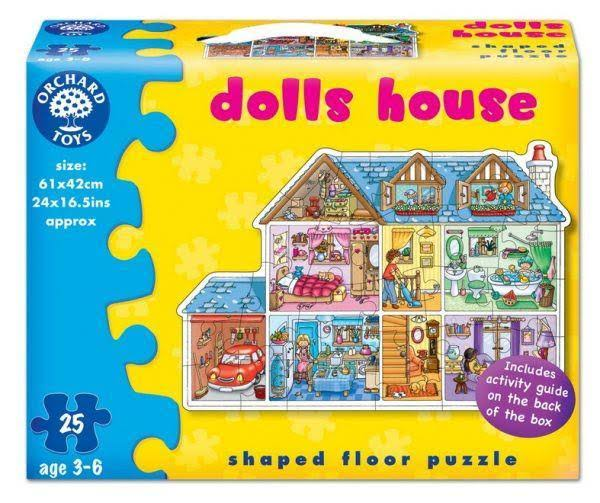Orchard Toys Dolls House Jigsaw Puzzle - 25 Pieces