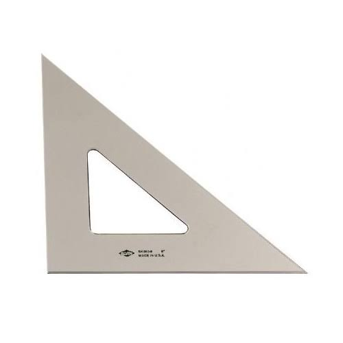 "Alvin 8"" Smoke Tint Triangle 45/90"