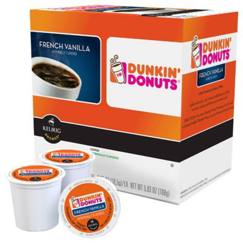 Keurig Dunking Donuts French Vanilla K-Cup - 16 K-Cups Capsules