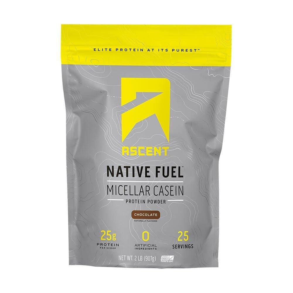 Ascent Native Fuel Micellar Casein Protein Powder - Vanilla Bean, 2lbs
