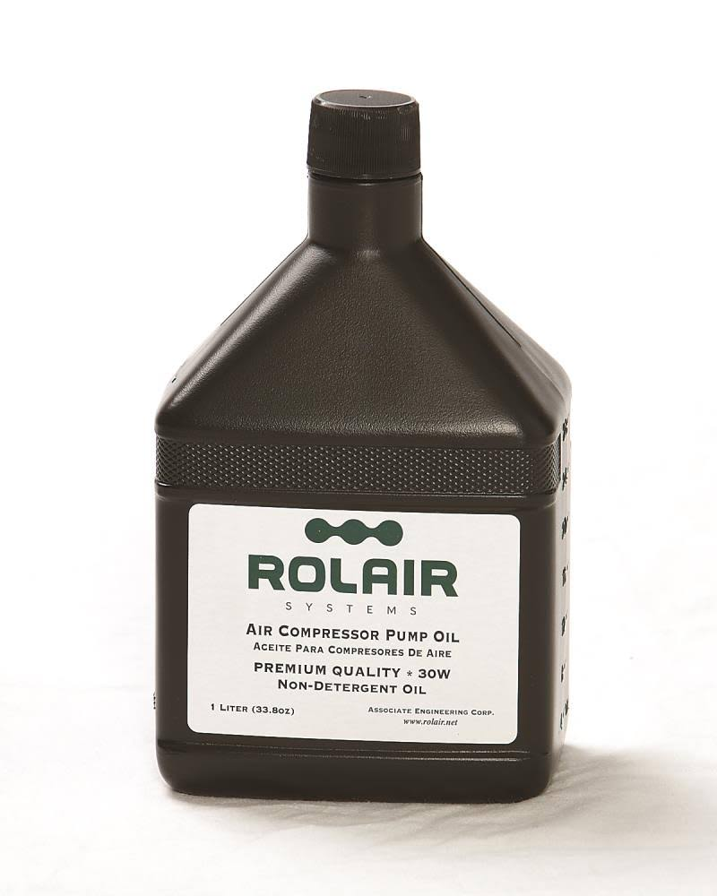 Rolair Air Compressor Oil - 1qt, 30w