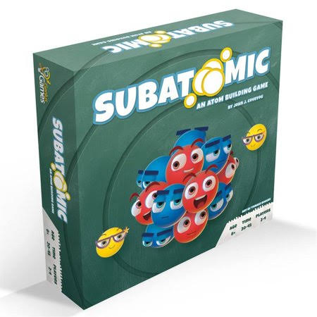Genius Games Got1007 Subatomic An Atom Building Board Game