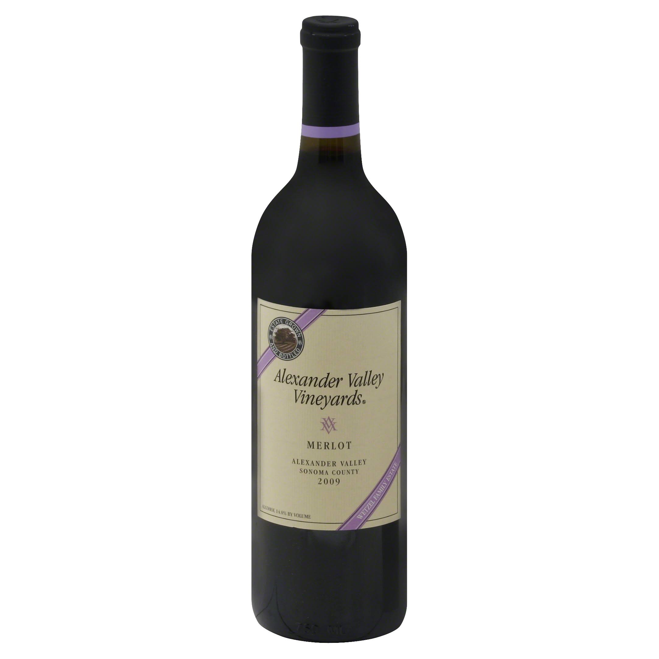 Alexander Valley Vineyards Merlot - 25.4oz