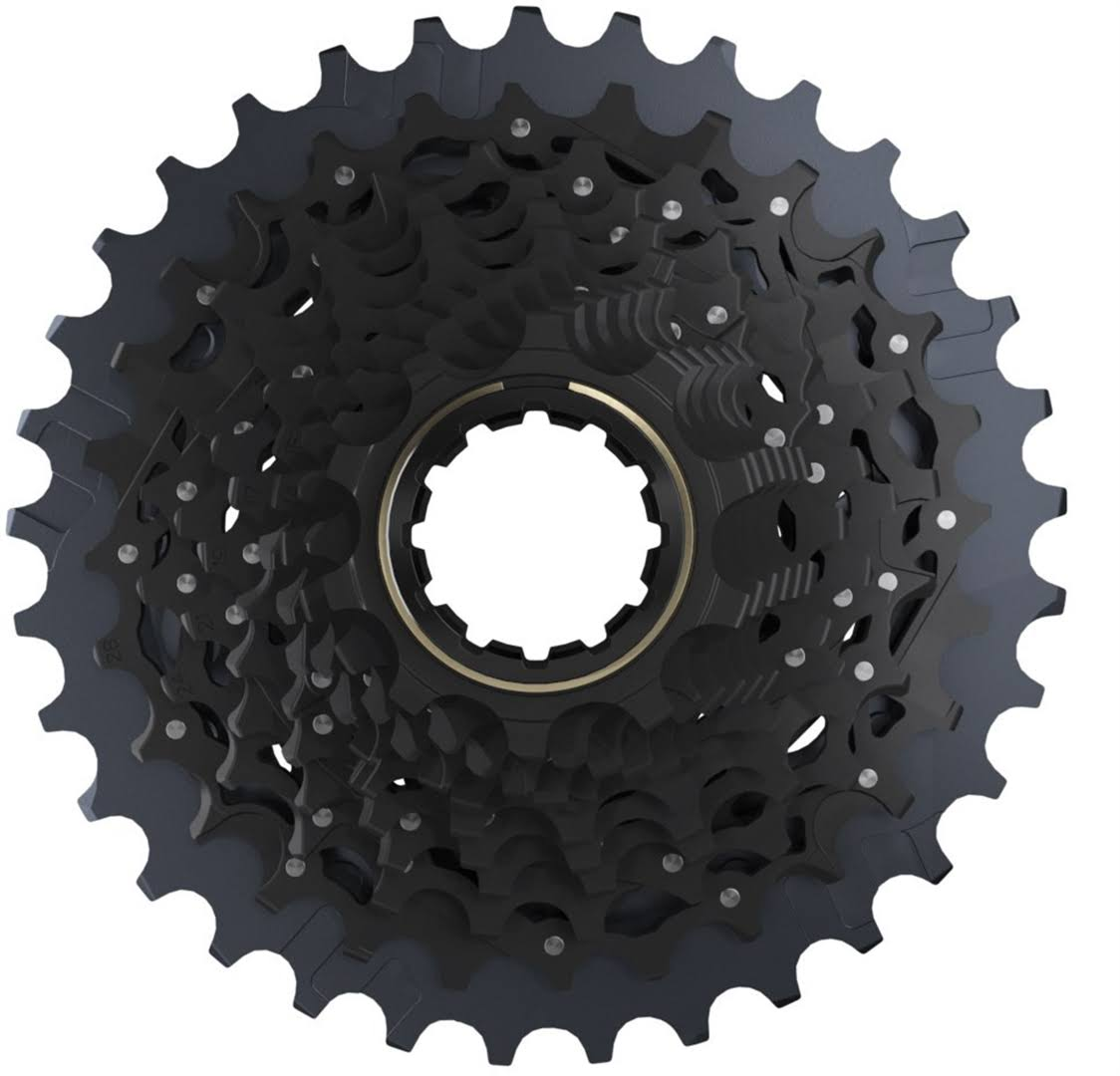 SRAM Force AXS Xg-1270 Cassette for XDR Driver Body - Black, 12 Speed, 10-33t
