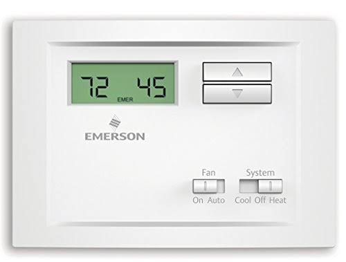 Emerson NP110 Non Programmable Single Stage Thermostat
