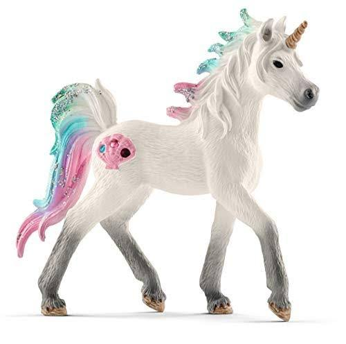 Schleich Sea Unicorn Toy Figurine - Foal
