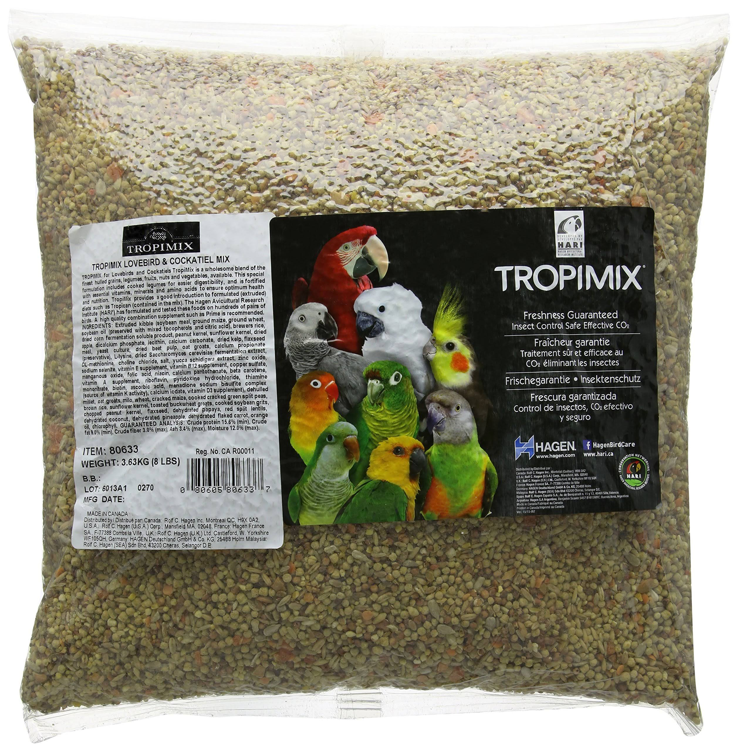 Hagen Tropimix Cockatiels & Lovebirds Food