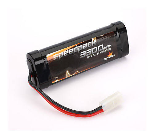 Dynamite Speedpack NiMH Flat Battery - 3300mah, 6 Cell