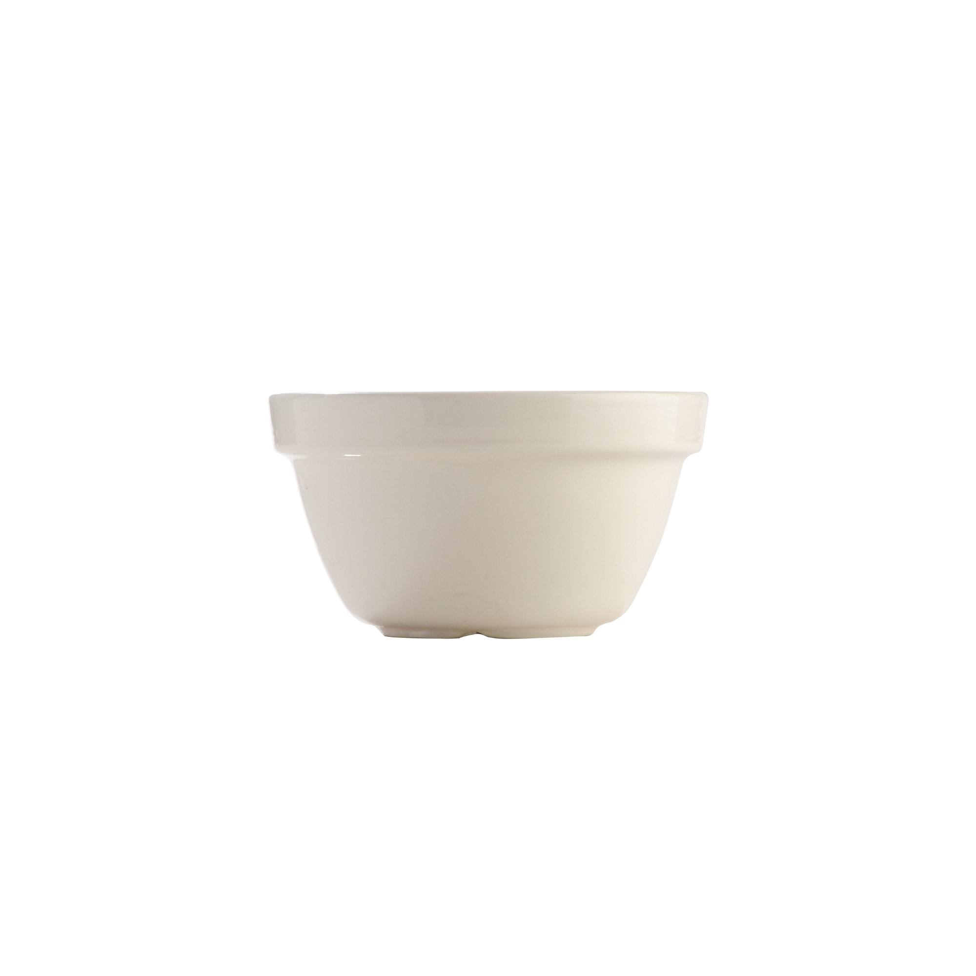 Mason Cash Steam Bowl Pudding Basin - Cream, 0.25qt