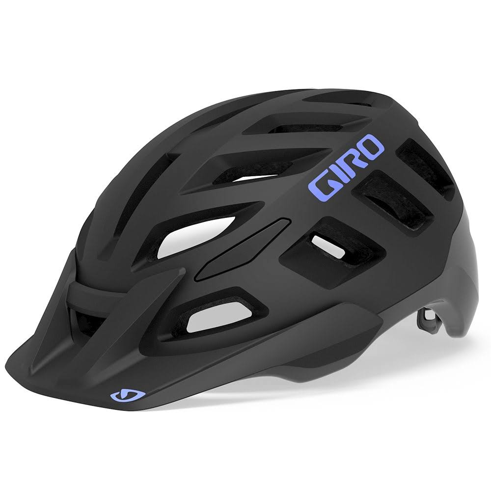 Giro Women's Radix Mips Helmet - Matte Black/Electric Purple, Small
