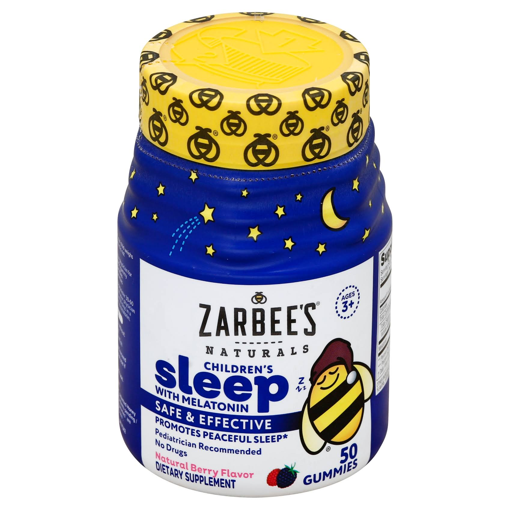 Zarbee's Naturals Children's Sleep with Melatonin Dietary Supplement - Mixed Fruit, 50ct