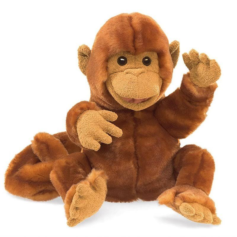 Folkmanis Classic Monkey Hand Puppet