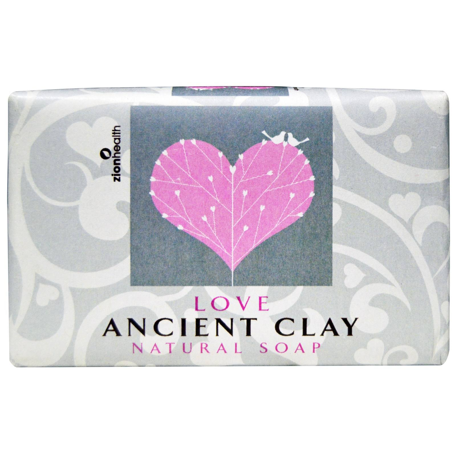 Zion Health Good Love Ancient Clay Soap Bar - 6oz