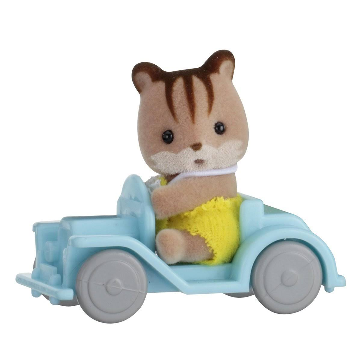Sylvanian Families Baby Carry Case Playset - Squirrel on Car