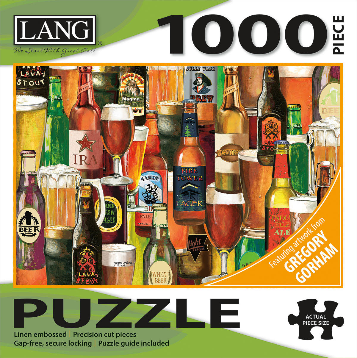 Lang Jigsaw Puzzle 1000 Pieces -Crafted Brews